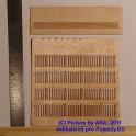 PLT019 - Dřevěný plot - prkna - TT