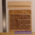 PLT016 - Dřevěný plot -  TT