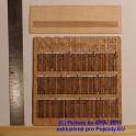 PLT015 - Dřevěný plot - vylámaná prkna starého plotu - TT