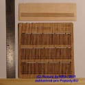 PLT011 - Dřevěný plot - nepravidelná, vylámaná prkna - TT