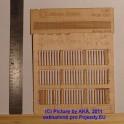 PL8020 - Dřevěný plot - prkna - H0