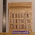 PL8019 - Dřevěný plot - prkna - H0