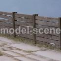 H0 - Betonový plot nepravidelný