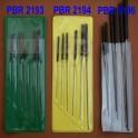Hodinářské výstružníky - sady PBR 2193, 2194, 2196