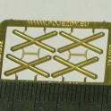 TT - Výstražné kříže pro jednokolejný přejezd (velký)