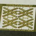 TT - Výstražné kříže pro dvoukolejný přejezd