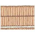 H0 - Dřevěné šindele s hřeby