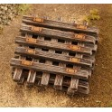 TT - Staré dřevěné pražce