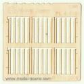 0 - Prkenný plot - širší prkna, šikmý řez (2ks)