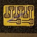 H0 - Stupačky roštové (lept Hekttor)